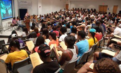 Xavier University Pre-Med Student Classroom