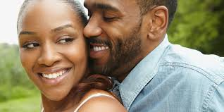 Young Black Couple in Love Photo