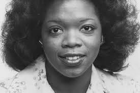Oprah Winfrey early in her career