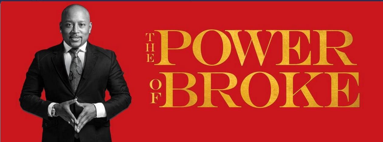 Power of Broke book cover