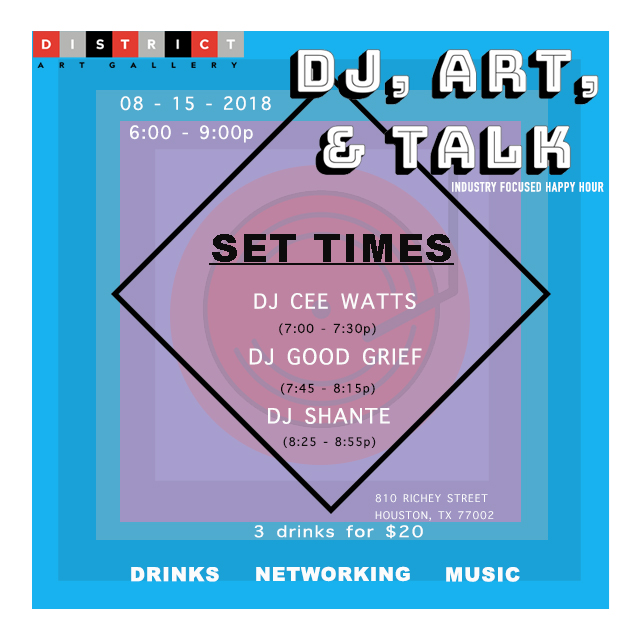 DJ ART AND TALK Event